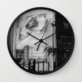 East Village VI Wall Clock