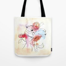 A camel in camelia Tote Bag