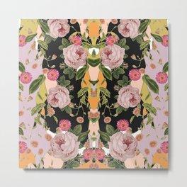 Floral Party Metal Print