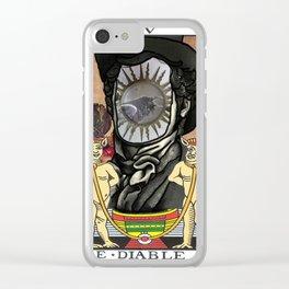 Dorian Grey Clear iPhone Case