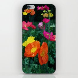 Poppies Two iPhone Skin