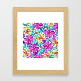 KALIA - PINK Framed Art Print