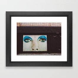 Brooklyn Eyes Framed Art Print