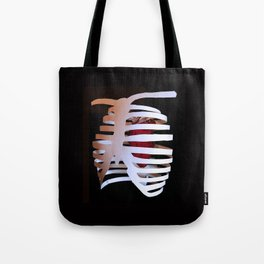 Ribcaged Heart Tote Bag