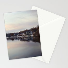 Boat House Row, Philadelphia Stationery Cards