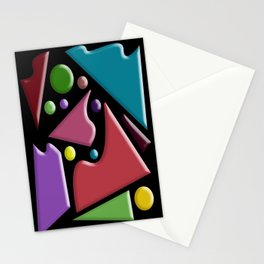 Abstract #307 Stationery Cards