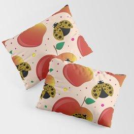 Apples and ladybugs Pillow Sham