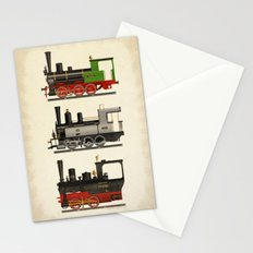 Groovy locomotives Stationery Cards