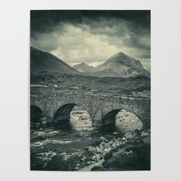 The Bridge and the Cuillin II Poster