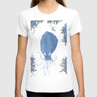 squid T-shirts featuring squid.  by Elvis Vazquez