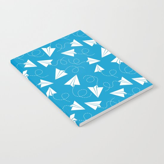 Paper Plane Notebook