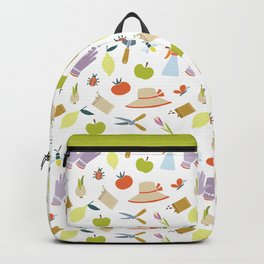 Gardening Gear Pattern Backpack