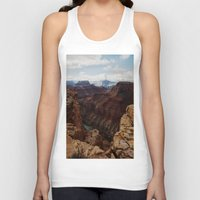 marble Tank Tops featuring Marble Canyon by Kevin Russ