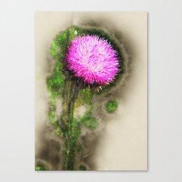 Thistle Magic Canvas Print