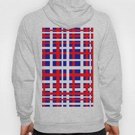 Patriotic Interlocking Stripes Hoody