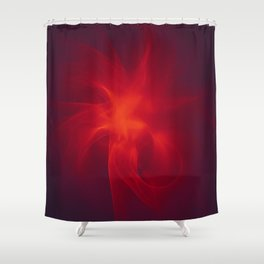Flames Within Shower Curtain