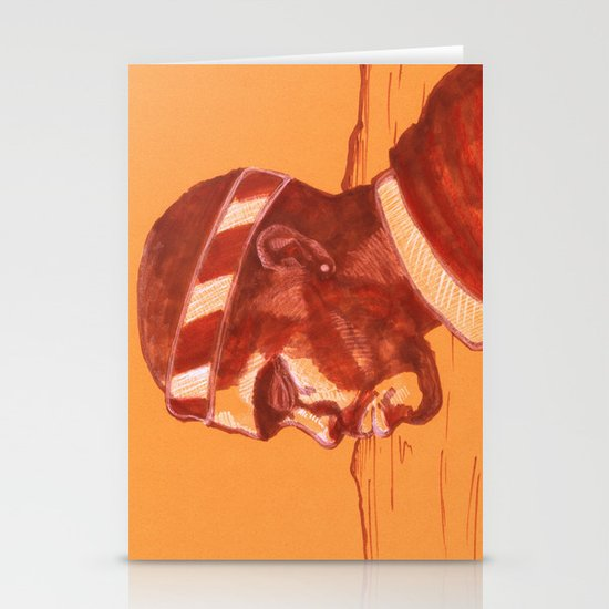 """Channel Orange"" by Cap Blackard Stationery Cards"