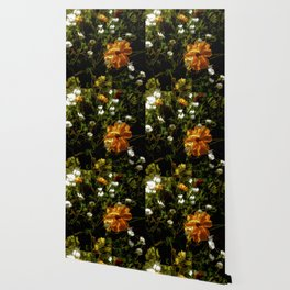 Bashful Floral Wallpaper