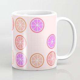Pink Juicy Fruit Slices Coffee Mug