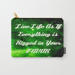 Everything Is Rigged - Rumi Carry-All Pouch