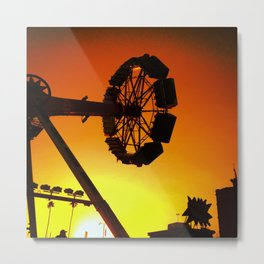 Carnival Sunset Metal Print