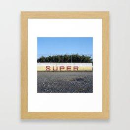 GI-682, Blanes. 2012. Framed Art Print