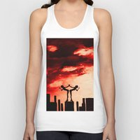 astrology Tank Tops featuring The Astrology  sign GEMINI by Krista May