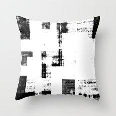 Black & White Abstract Series ~ 4 Throw Pillow