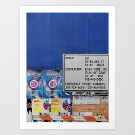 Street Collage I Art Print