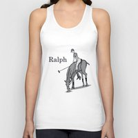 wreck it ralph Tank Tops featuring Ralph by David Michael Schmidt
