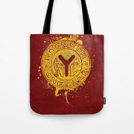 NYC Token (Red) Tote Bag