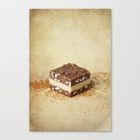 chocolate Canvas Prints featuring chocolate by lucyliu