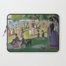 Georges Seurat - A Sunday Afternoon on the Island of La Grande Jatte Laptop Sleeve