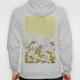 Daisies Watercolor Hoody