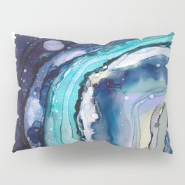 Geode Art Pillow Sham