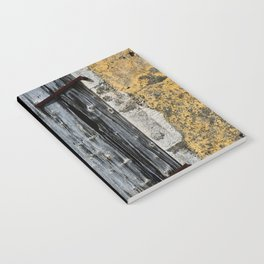 weathered window Notebook