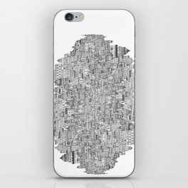 The Long Town  iPhone Skin