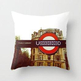 The Tube Throw Pillow