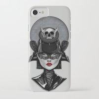 samurai iPhone & iPod Cases featuring Samurai by Giulio Rossi