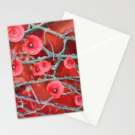 Floral Abstract 78 Stationery Cards