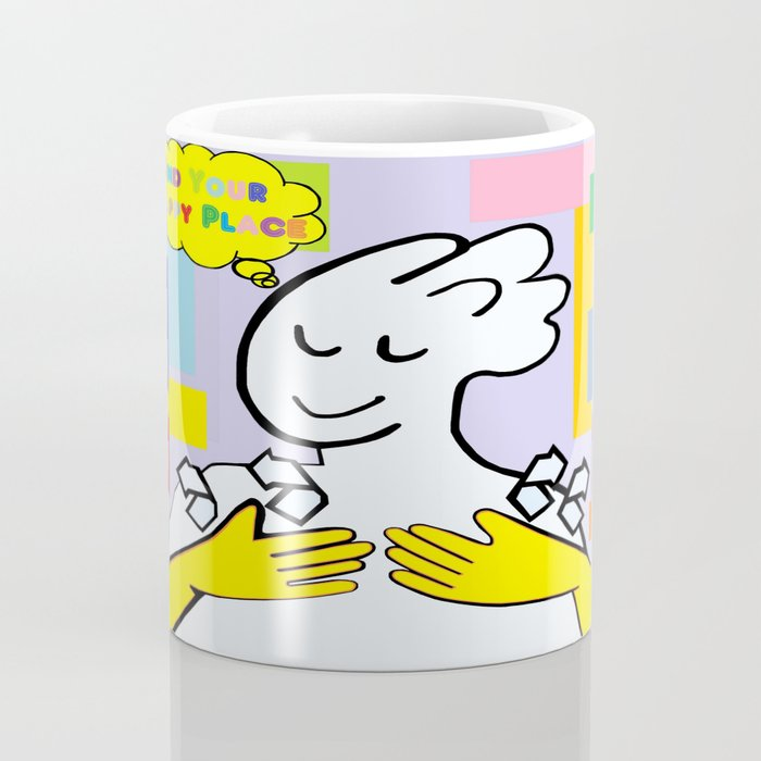 ASL Find Your Happy Place Coffee Mug