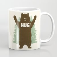 hug Mugs featuring Bear Hug? by Fanboy30