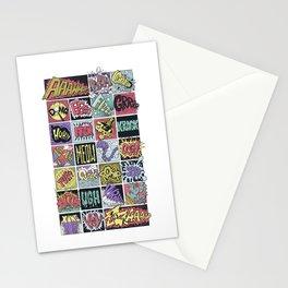 Crash Boom Bang ... Stationery Cards