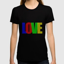 Love (Color) T-shirt