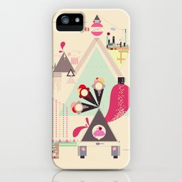 Icecream Volcano iPhone Case
