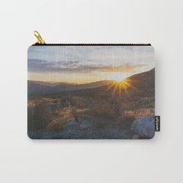 Scissors Crossing - Pacific Crest Trail, California Carry-All Pouch
