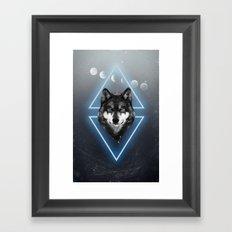 Jack Wolf Framed Art Print