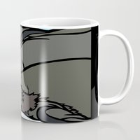 seal Mugs featuring Seal by Mel McIvor