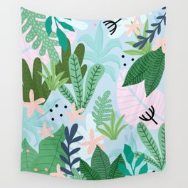 Into the jungle Wall Tapestry