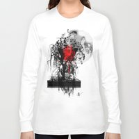 japan Long Sleeve T-shirts featuring Japan by Annabelle Vauvrecy